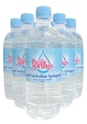 600ml Spring Water Bottles
