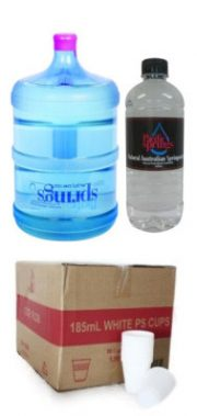 Water Bottles & Supplies