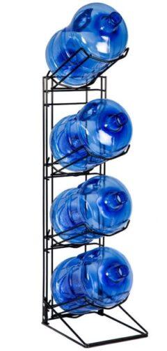 Rack for 4 15L spring water bottles