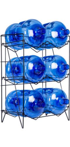 Rack for 6 15L spring water bottles