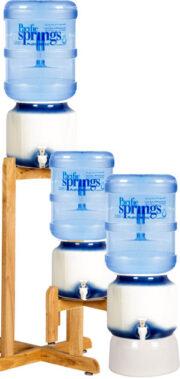 Spring water ceramic pot
